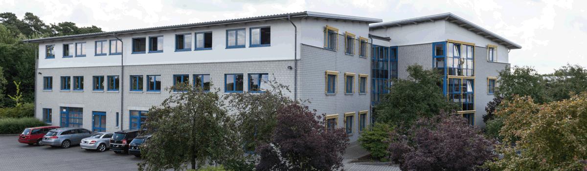 IT Rechenwerk GmbH im Gebäude der GAZ Technik in Espelkamp